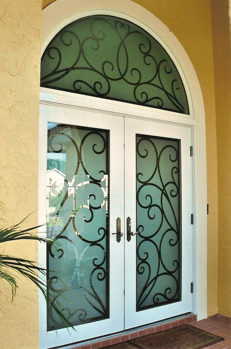 Doors Design: Etched Glass Design