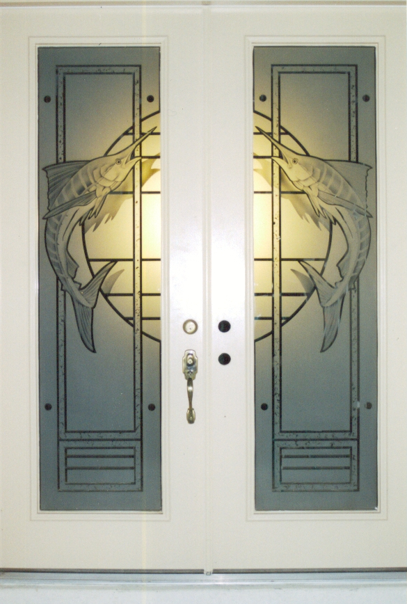 doors etched glass etched glass design