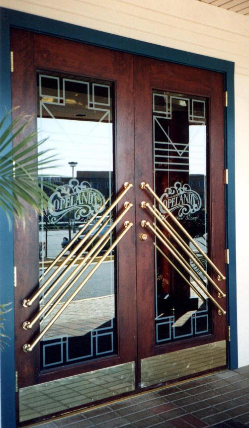 Restaurant Design Etched Glass Etched Glass Design