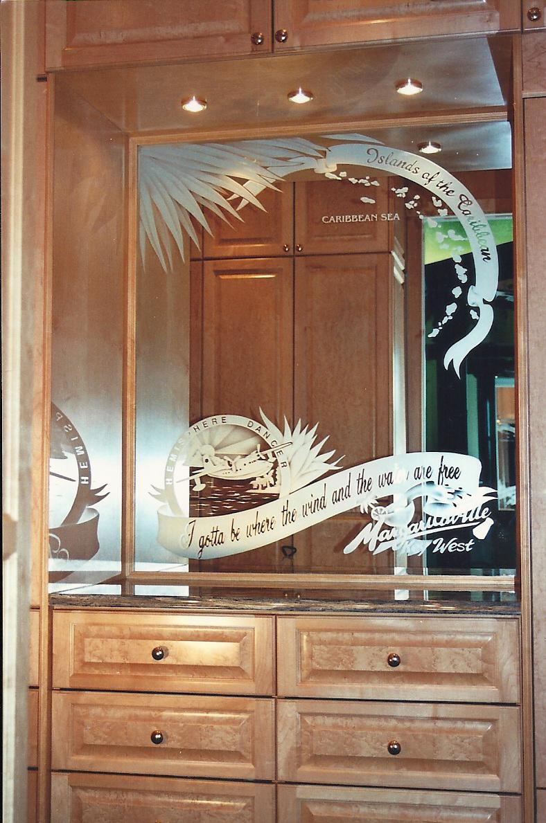 Etched Mirror | Etched Mirror Design | by Premier Etched ...